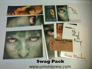 Untold Press swag packs