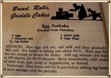 Swedish Oven Pancake ORIGINAL Swedish RECIPE