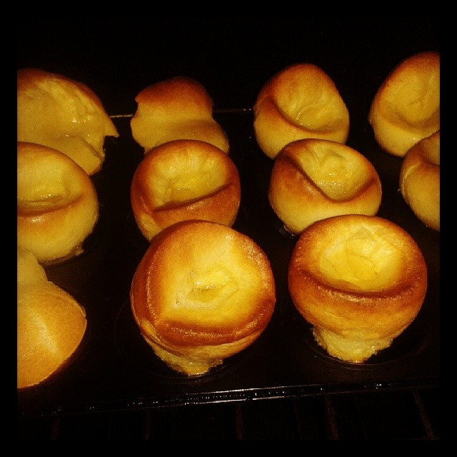 The best yorkshire puds I ever made. Ever.