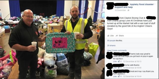 Accrington donation