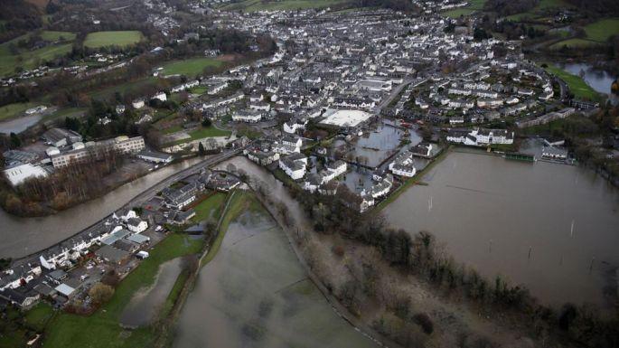 Keswick flooded 2015
